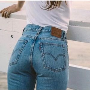 Levis 100% Cotton Wedgie Straight 25 a5